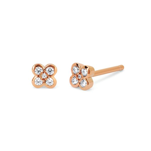 Earrings - 10k Rose Gold Earrings