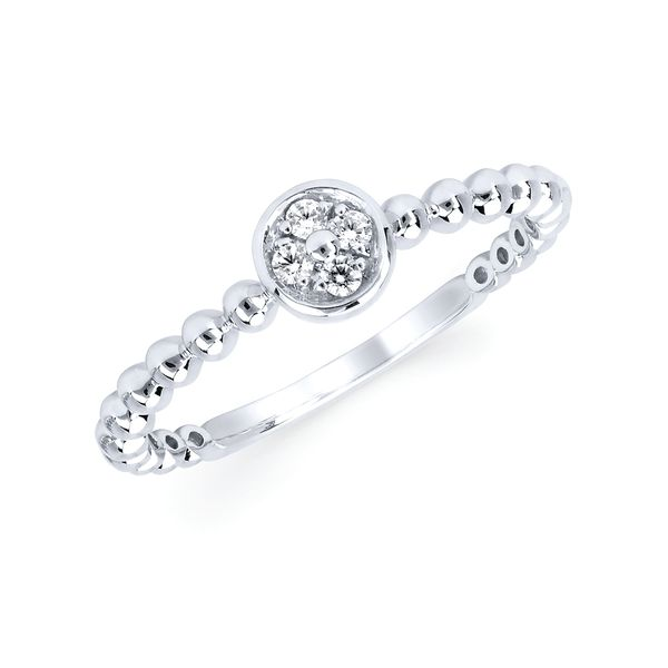 Wrap Rings - 10k White Gold Ring