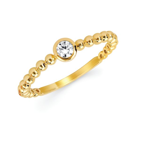 Wedding Bands - 10k Yellow Gold Ring