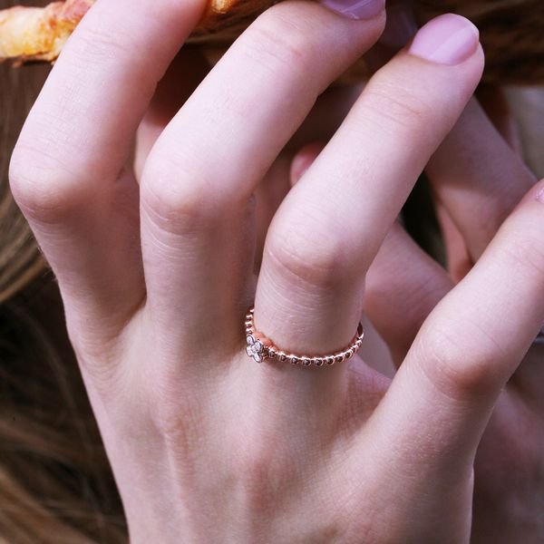 Wrap Rings - 10k Rose Gold Ring - image 3