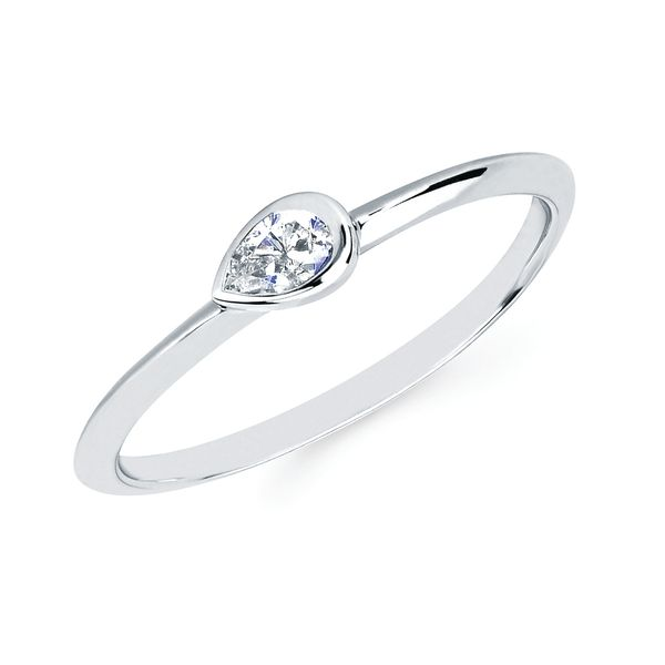 Wrap Rings - 14k White Gold Ring