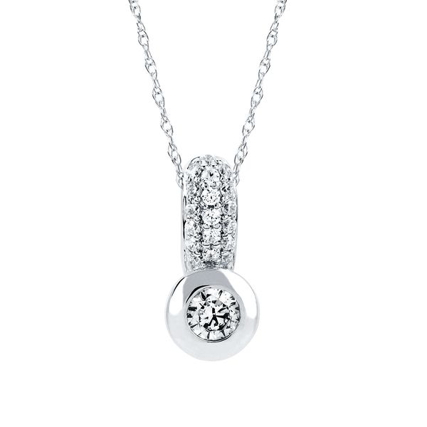 Pendants & Necklaces - 14k White Gold Pendant