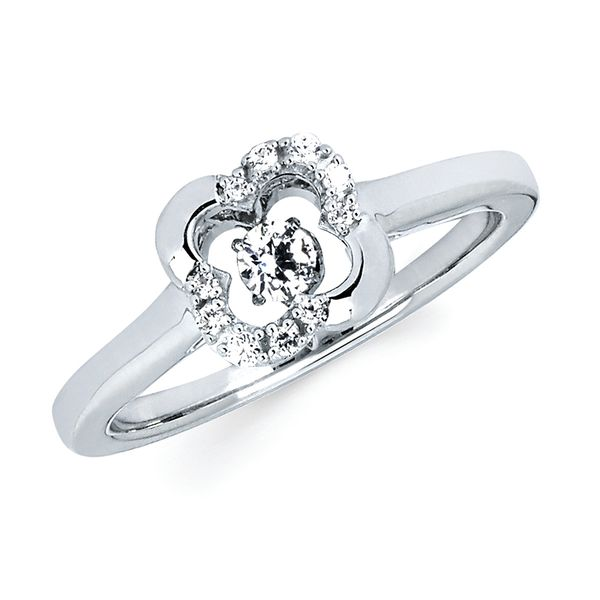 Sterling Silver Fashion Ring by Shimmering Diamonds