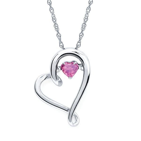 Diamond Pendants - Sterling Silver Pendant