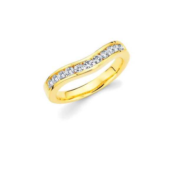 14k Yellow Gold Wrap - 1/4 Ctw. Diamond Wrap in 14K Gold