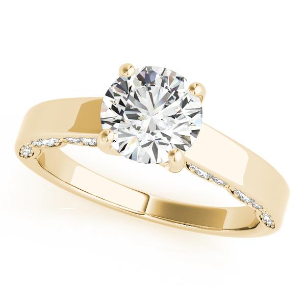10k Yellow Gold Engagement Ring Remount 50580 E 10ky Franzetti