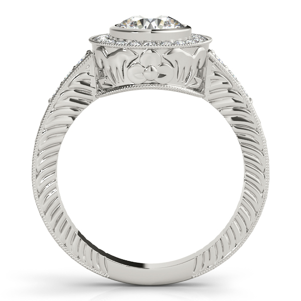Choose from wide variety of unique halo engagement & bridal rings in different shapes and sizes. Whether you would - image #2