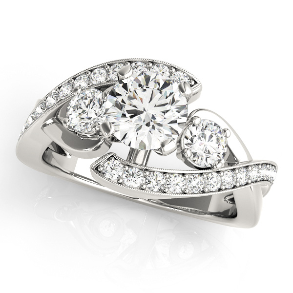 49782a5a3e0b1 Engagement Rings - 14K White Gold Engagement Ring
