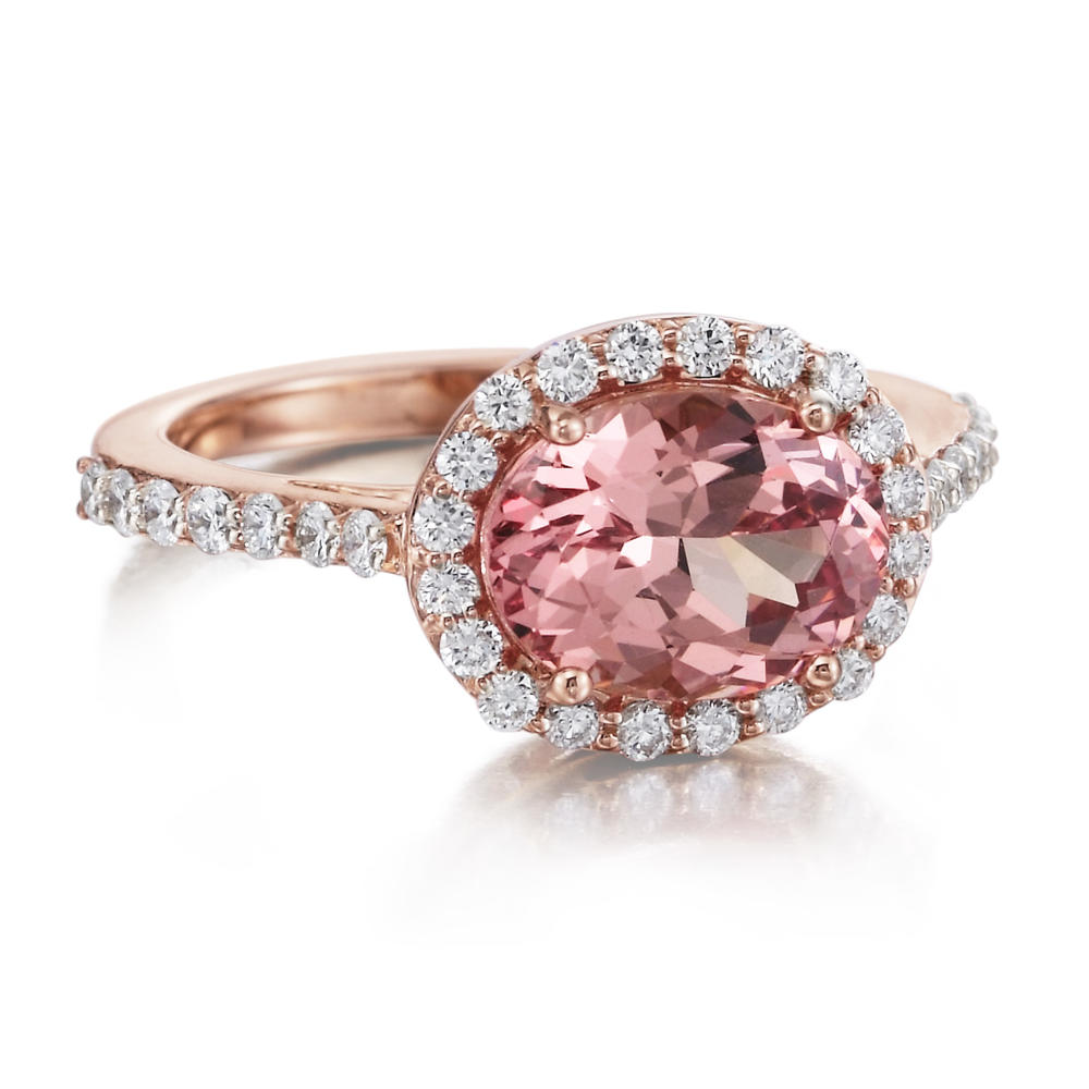 Rings - Rose Gold Spinel Ring - image #2