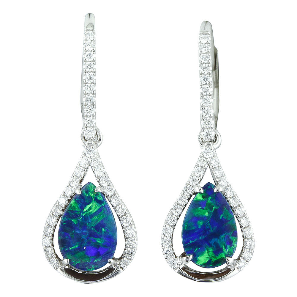 Browse our fine jewelry collection of earrings at Michael's Jewelry Center in Dayton, Ohio. - image #3