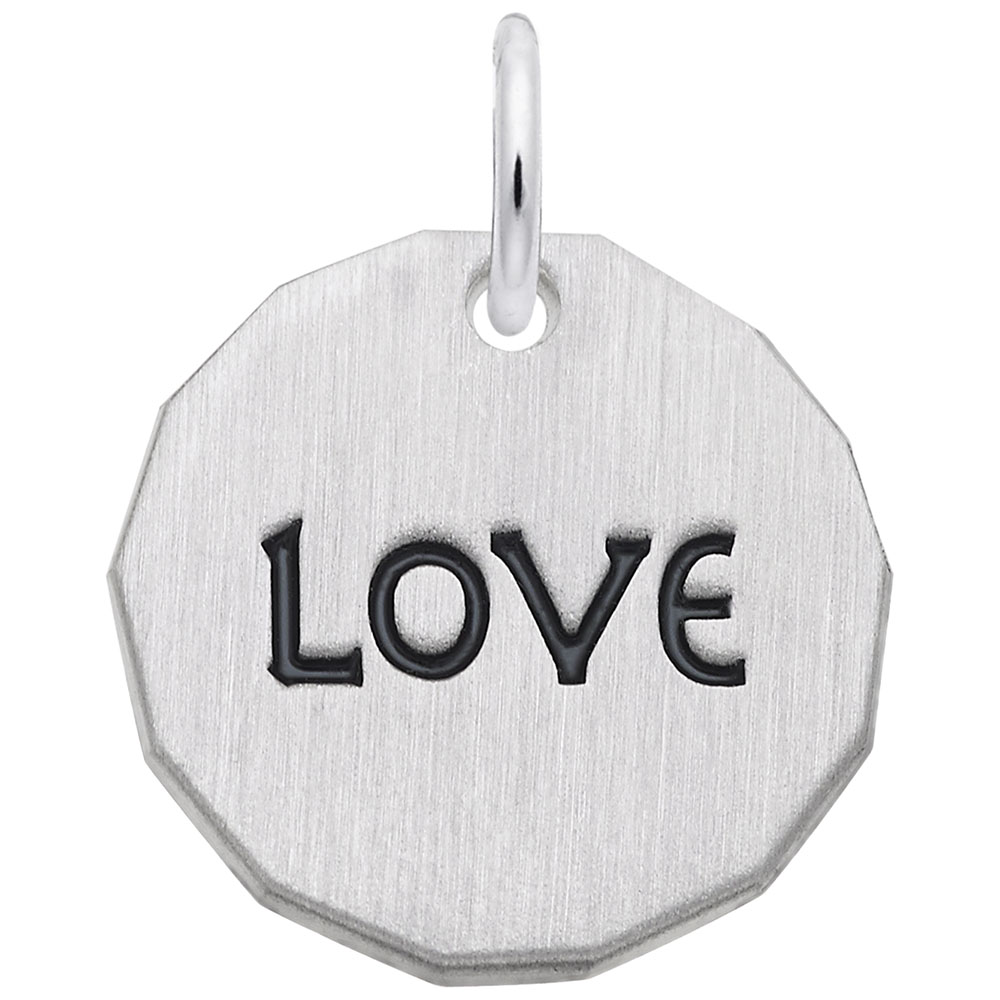 Love Charm Tag by Rembrandt Charms
