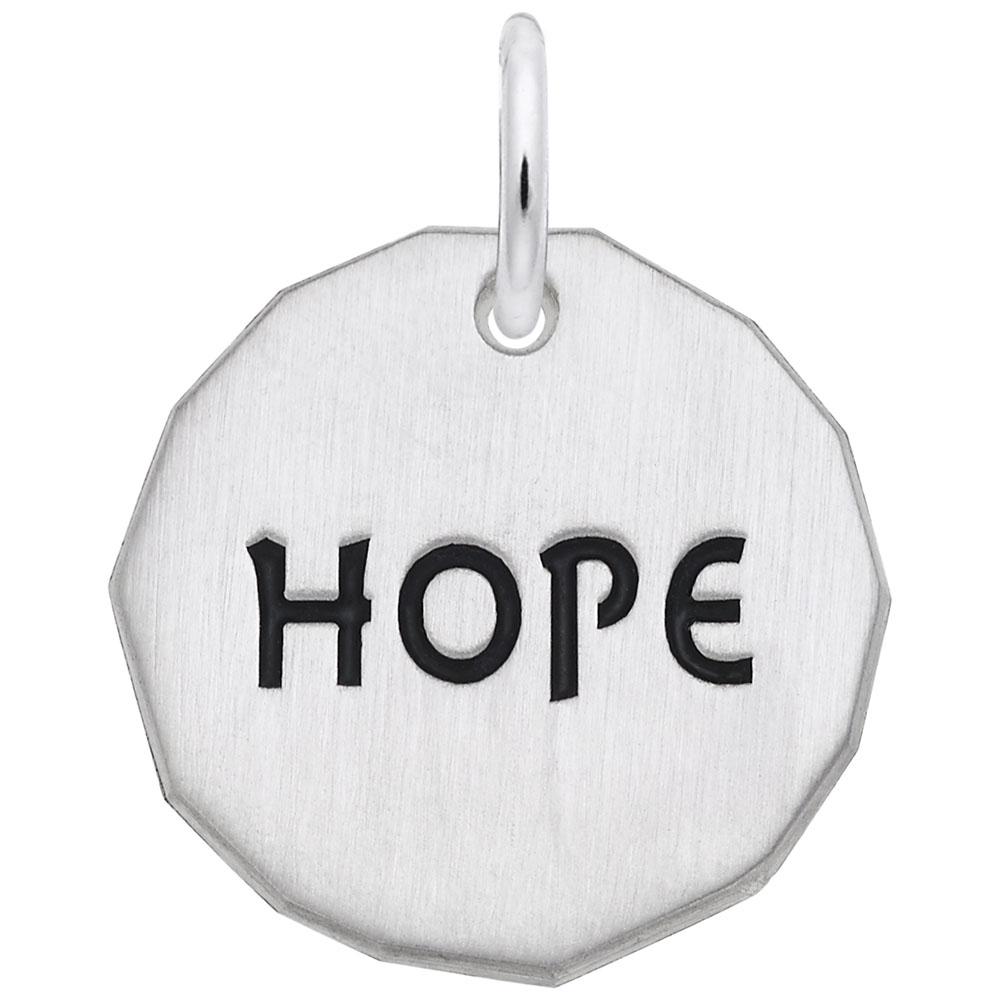 Hope Charm Tag by Rembrandt Charms