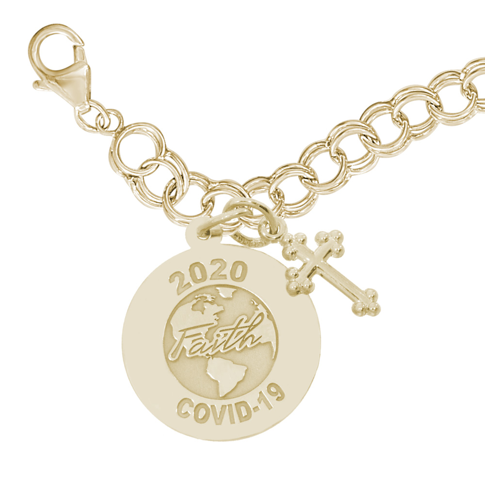 Covid-19 - Faith World Bracelet Set by Rembrandt Charms