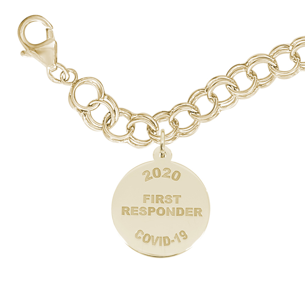 Covid-19 - First Responders Bracelet Set by Rembrandt Charms