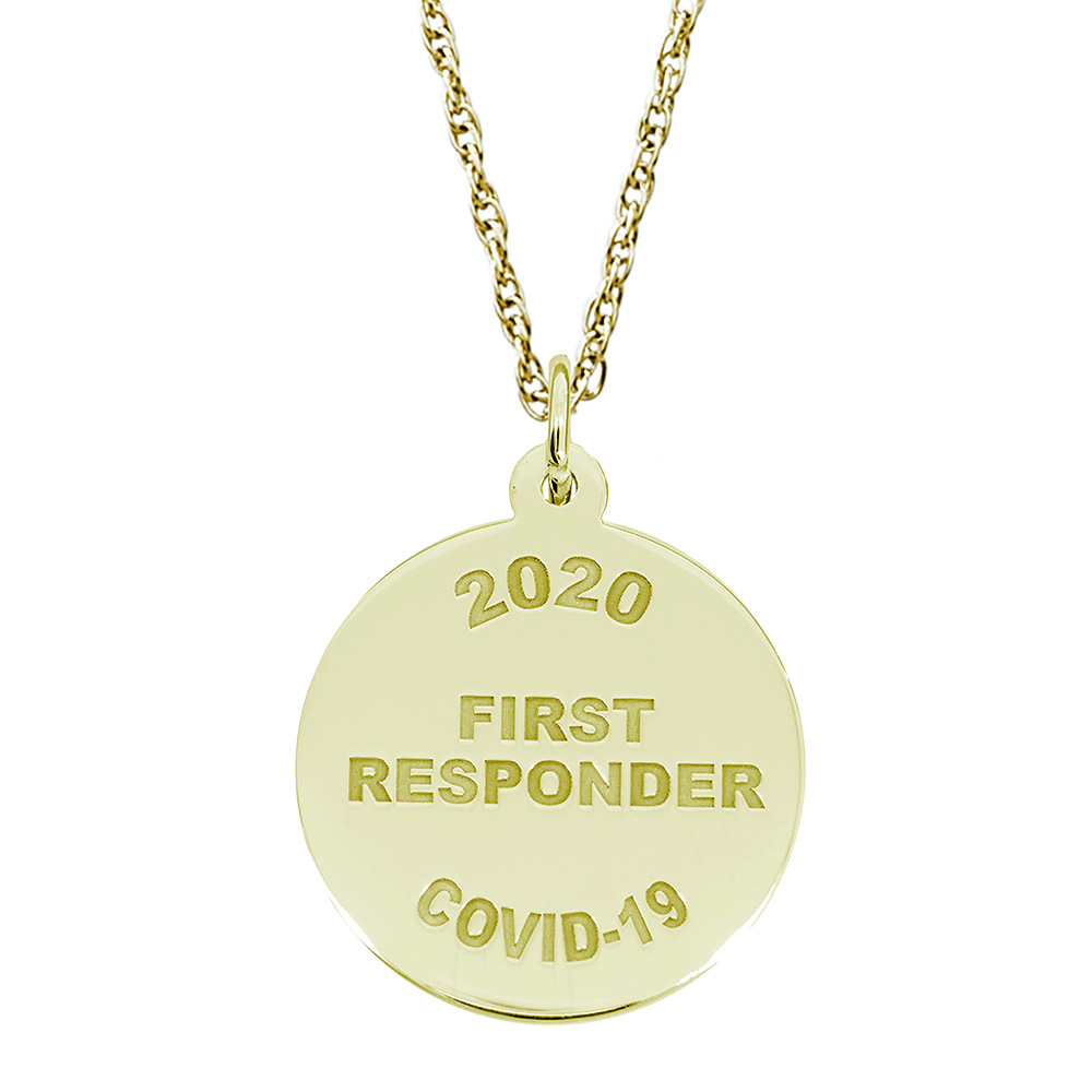 Covid-19 - First Responders Charm & Chain by Rembrandt Charms