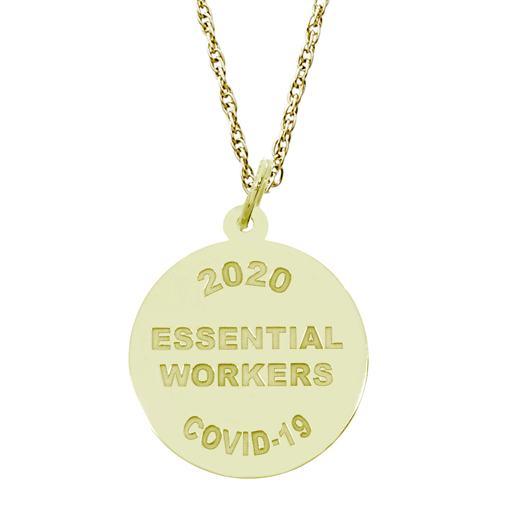 Covid-19 - Essential Workers Charm & Chain by Rembrandt Charms