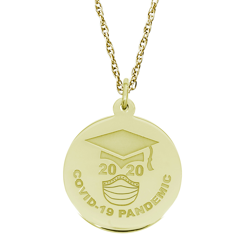 Covid-19 Graduation Charm & Chain by Rembrandt Charms