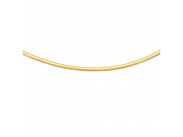 14K Omega Necklace by Royal Chain