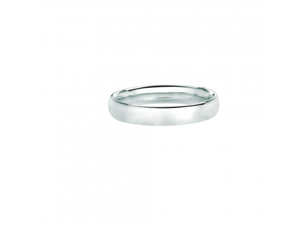 Ladies 14k White Gold Band by Royal Chain