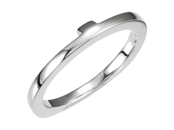 Wedding Bands - Engagement Ring Base Ring Matching Band