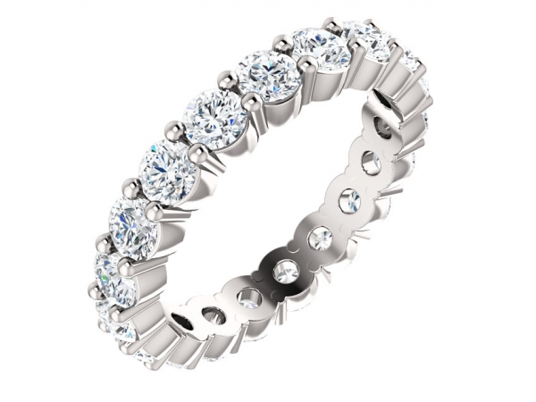 Gemstone Rings - Eternity Band