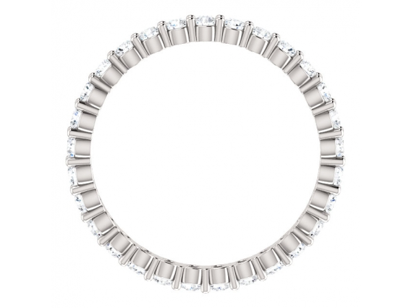 Diamond Fashion Rings - Eternity Band - image #2