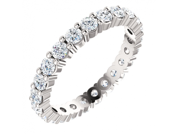 Wedding & Anniversary Bands - Platinum Anniversary Band