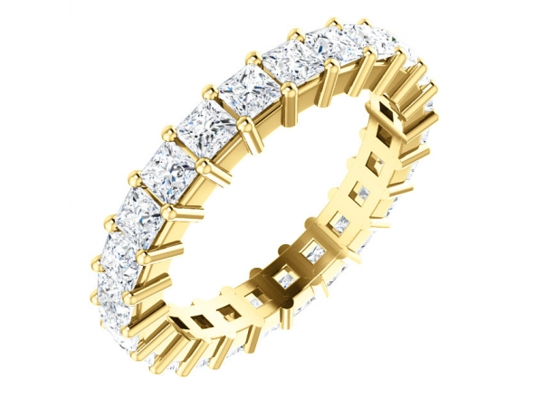 Wedding & Anniversary Bands - 14K Yellow Gold Anniversary Band
