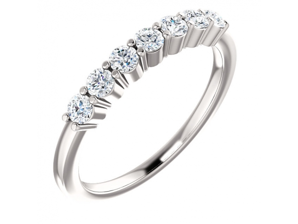 Diamond Fashion Rings - Anniversary Band