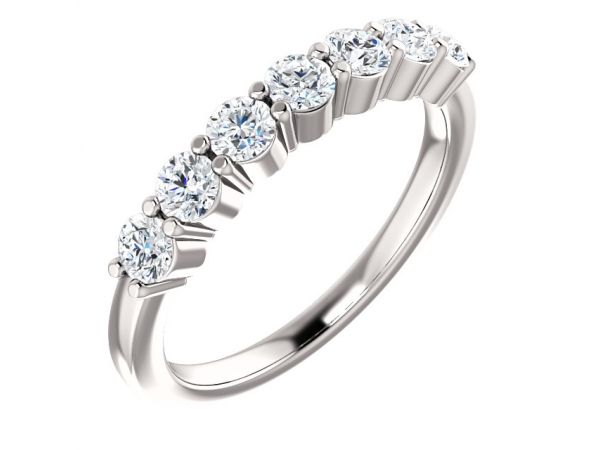 Anniversary Band - 14K White 3/4 CTW Diamond Anniversary Band
