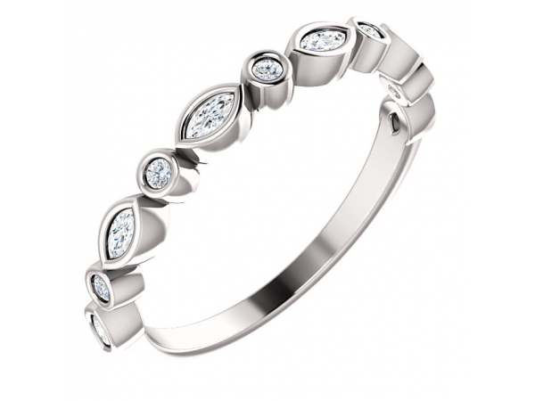 Anniversary Band - Platinum 1/4 CTW Diamond Anniversary Band