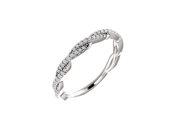Platinum Anniversary Band by Stuller