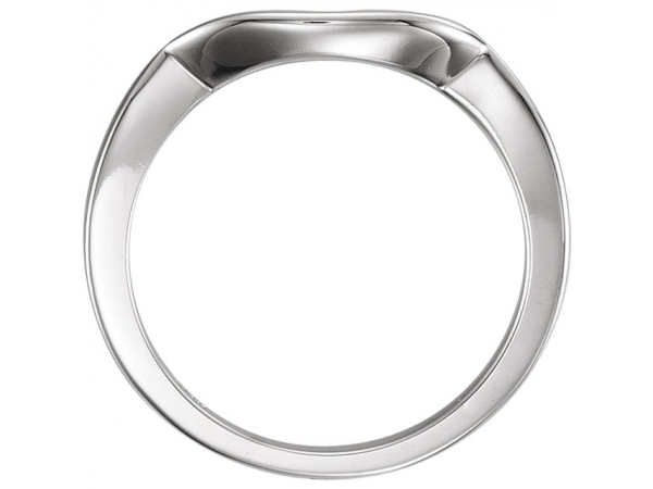 Rings - Three-Stone Engagement Ring Matching Band - image #2