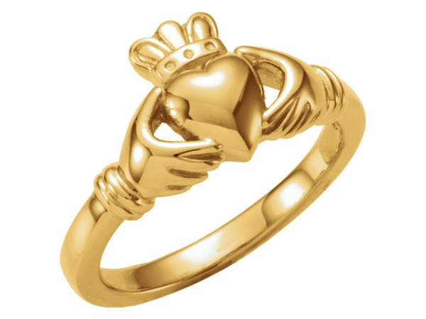 Youth Claddagh Ring by Stuller