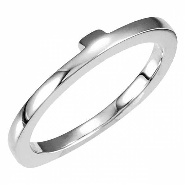 Anniversary Bands - Engagement Ring Base Ring Matching Band