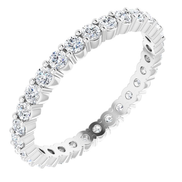 Diamond Fashion Rings - Eternity Band