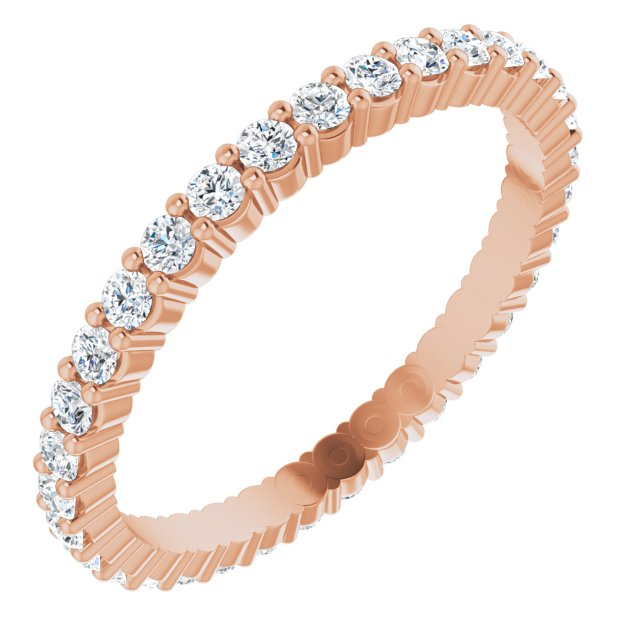 Wedding / Anniversary Bands - 14K Rose Gold Anniversary Band