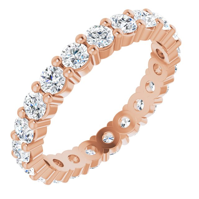 Wedding & Anniversary Bands - 14K Rose Gold Anniversary Band