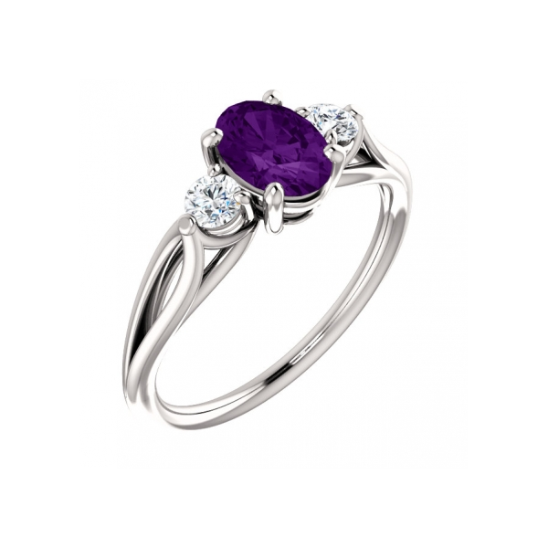 Amethyst Ring by Stuller