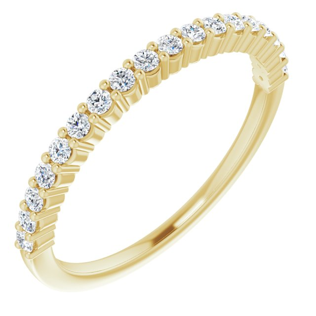 Anniversary Rings - 14K Yellow Gold Anniversary Band