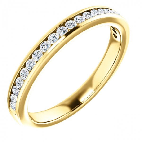 Anniversary Bands - 14K Yellow Gold Anniversary Band