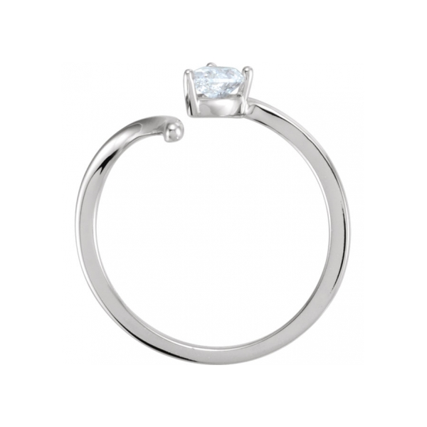 Diamond Fashion Rings - Diamond Ring - image 2