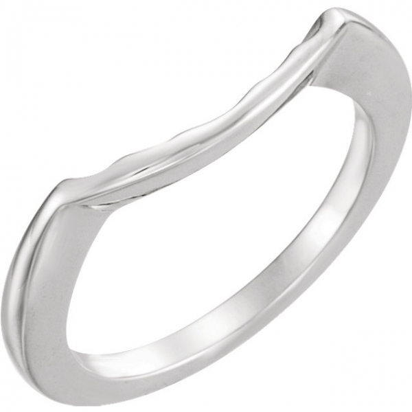 Three-Stone Engagement Ring Matching Band by Stuller