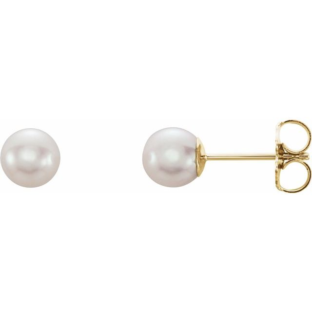 Earrings - Pearl Stud Earrings