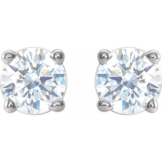 Diamond Earrings - Genuine Diamond Earrings - image 2