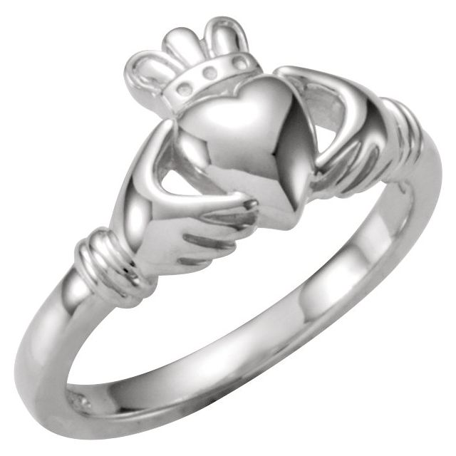 Gemstone Rings - Youth Claddagh Ring