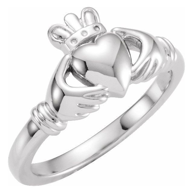 Anniversary Bands - Youth Claddagh Ring