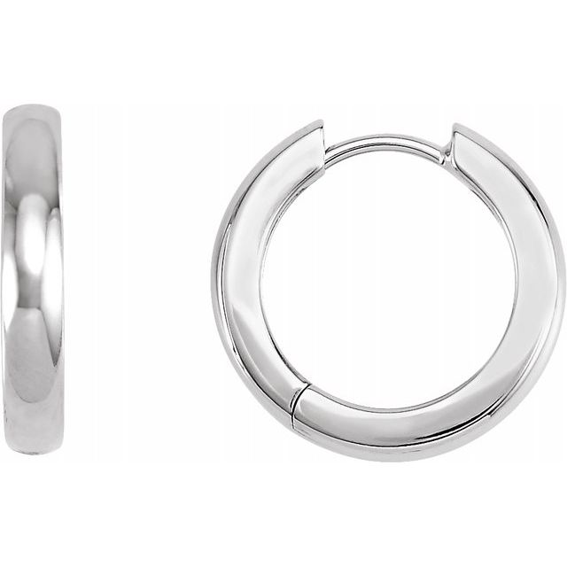 Earrings - Hinged Hoop Earrings