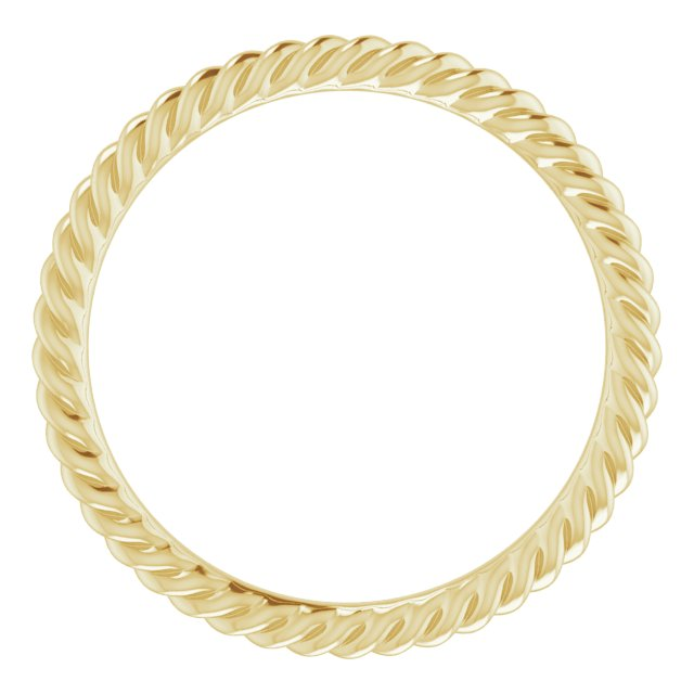 Wedding Bands - Skinny Rope Band - image #2