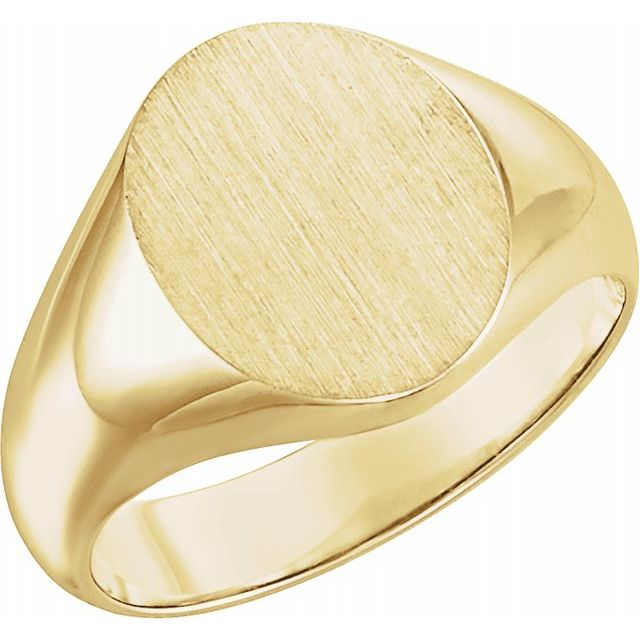 Rings - 18K Yellow Gold Ring